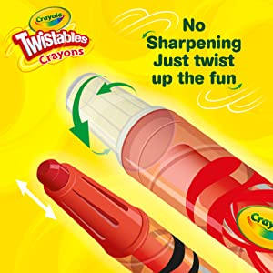 crayola twistables, twistables crayons, crayola twistables crayons, twist up crayons, twist crayons
