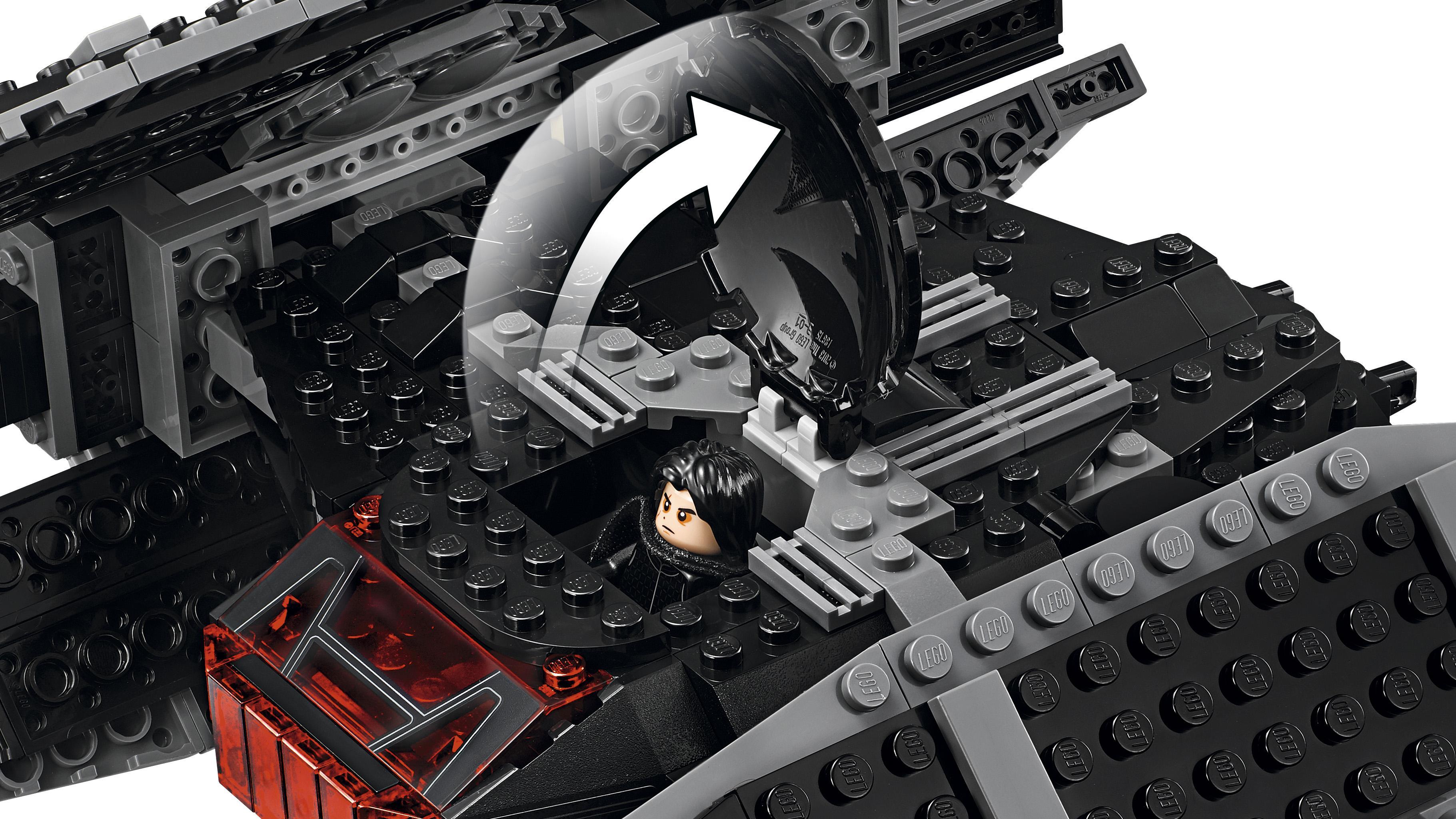 LEGO Star Wars - Tie Fighter de Kylo Ren, Nave Espacial de