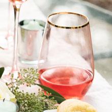 glass ware; drinkware