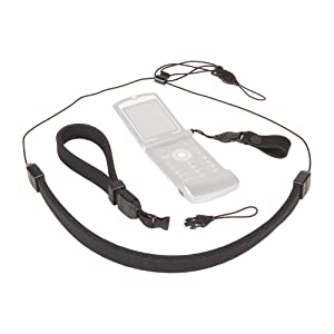 Switch from a wrist strap to a neck strap or finger strap easily with the mini qd