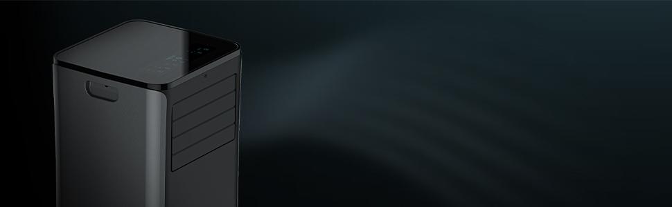 Temporizador 24h ClimaCare 4 en 1 Color Negro 2270 Frigor/ías Cecotec ForceSilence Clima 9150 Heating Acondicionado Port/átil Eficiencia Energ/ética de Clase A Gran Caudal de Aire de hasta 400 m/³//h