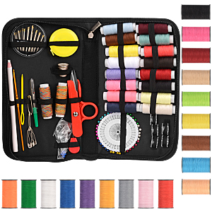 Sewing Accessories 98Pcs Multifunctional Durable Sewing Supplies for Home Travel Machine DIY Sewing Kit
