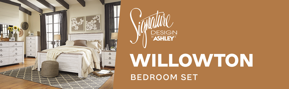 b267 willowton bedroom set signature design by ashley furniture bed room