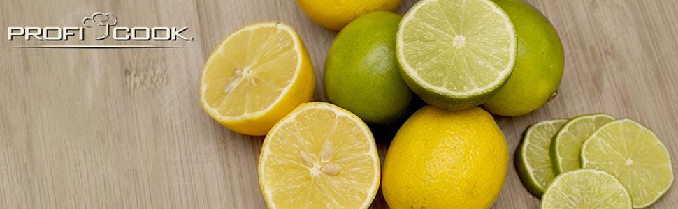 Proficook ZP 1154 Exprimidor Eléctrico Zumo Naranjas y Limón con P ...