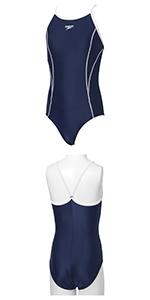 Speedo(スピード) スクール水着 女の子 ジュニアスイムスーツ ワンピース SD36Y21