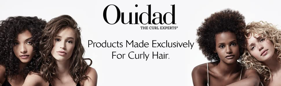 Ouidad the curl experts, hair products made exclusively for curly hair