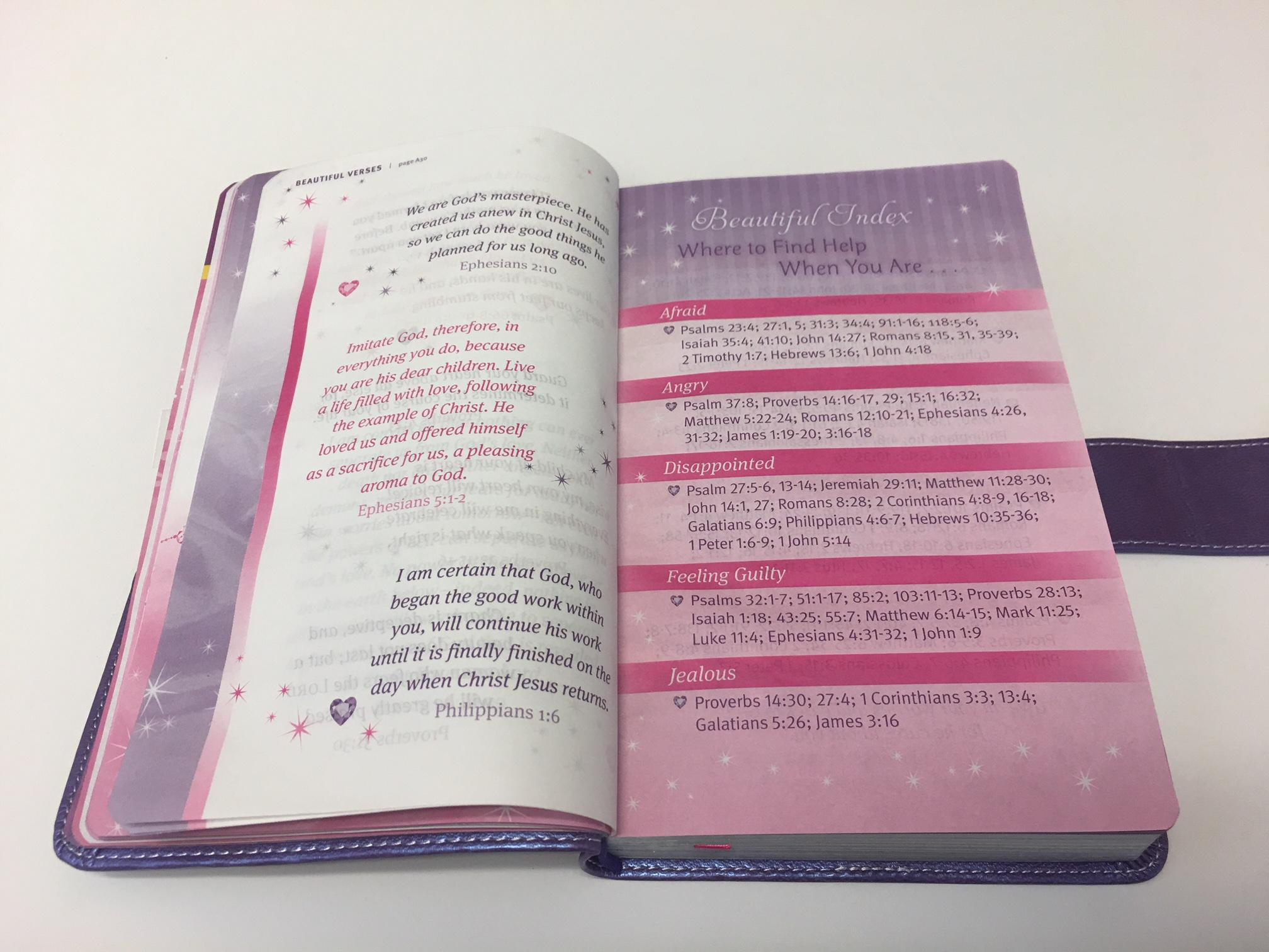 My Beautiful Princess Bible NLT Sheri Rose Shepherd Tyndale
