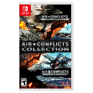Amazon Com Air Conflicts Collection Nintendo Switch Kalypso Media Usa Inc Video Games