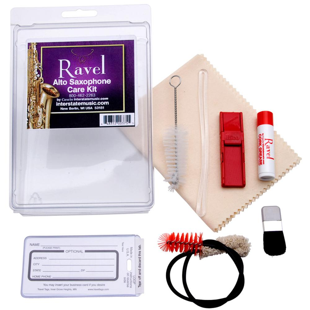 Amazon.com: Ravel 375 Care Kit Saxofón Alto: Musical Instruments
