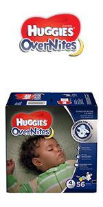... HUGGIES OverNites Diapers