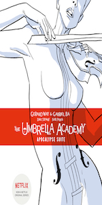Umbrella Academy Volume 1, Apocalypse Suite, Gerard Way, Gabriel Ba, Dallas, Hotel Oblivion, Library