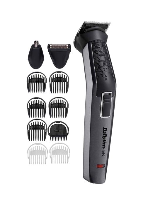 BaBylissMEN MT861E Recortadora para cuerpo, barba, nariz y orejas ...