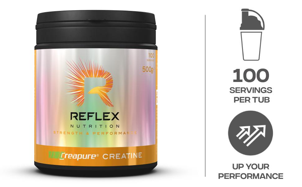 Reflex Nutrition Creapure Creatine Monohydrate Standard - 500 ...