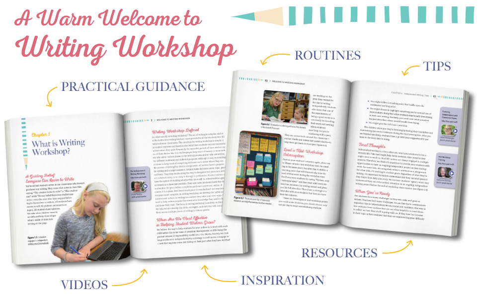 Welcome to Writing Workshop look inside the book