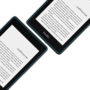 Película com bordas arredondadas Kindle paperwhite