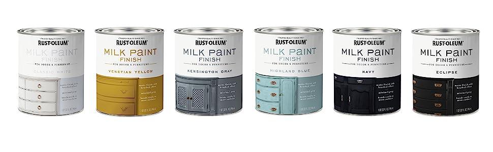 Milk Paint Cans