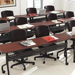 Iceberg OfficeWorks Mobile Training Tables