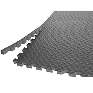 Amazon.com : CAP Barbell Antimicrobial Treated Puzzle Mat, 24 sq ft ...