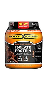 Body fortress Isolate Protein Powder