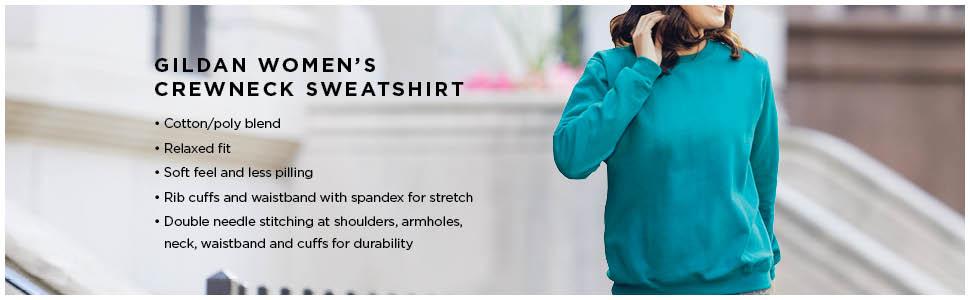 womens crewneck sweatshirt, womens blank sweatshirt, gildan blank sweatshirt, blank sweatshirt