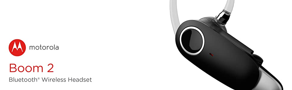 Motorola Boom 2 Wireless Headset (MH003)