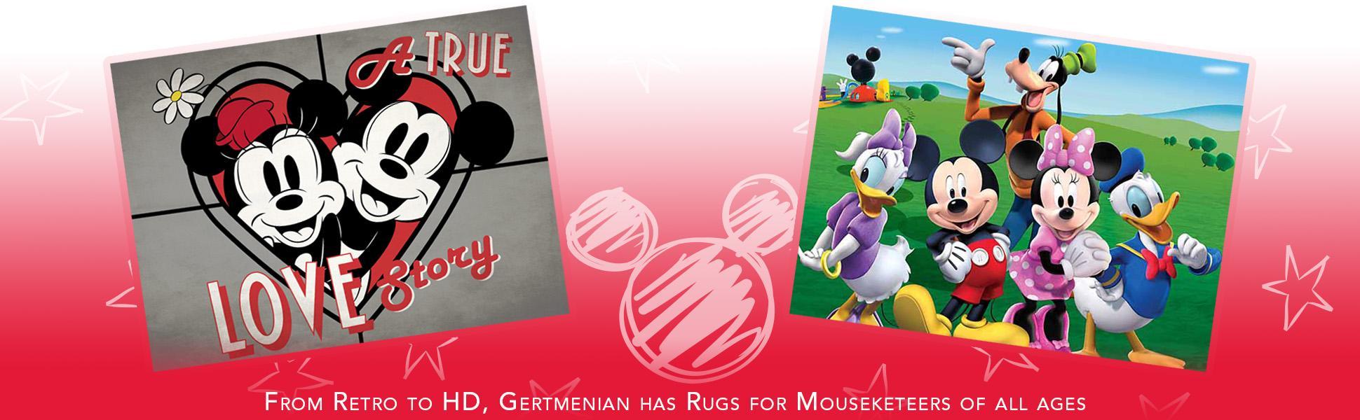 Amazon Com Disney Minnie Mouse Rug W Figaro Cat Hd
