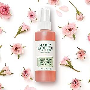 facial spray rosewater aloe herbs hydrating mario badescu