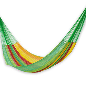 Open Weave Rope Design