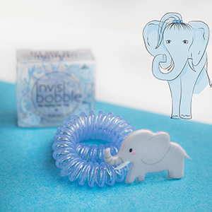 invisibobble Circus Collection ORIGINAL Bad Hair Day? Irrelephant!