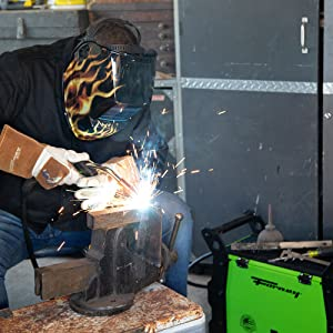 welder, welding, work, helmet, saulder, metal work,dual-voltage