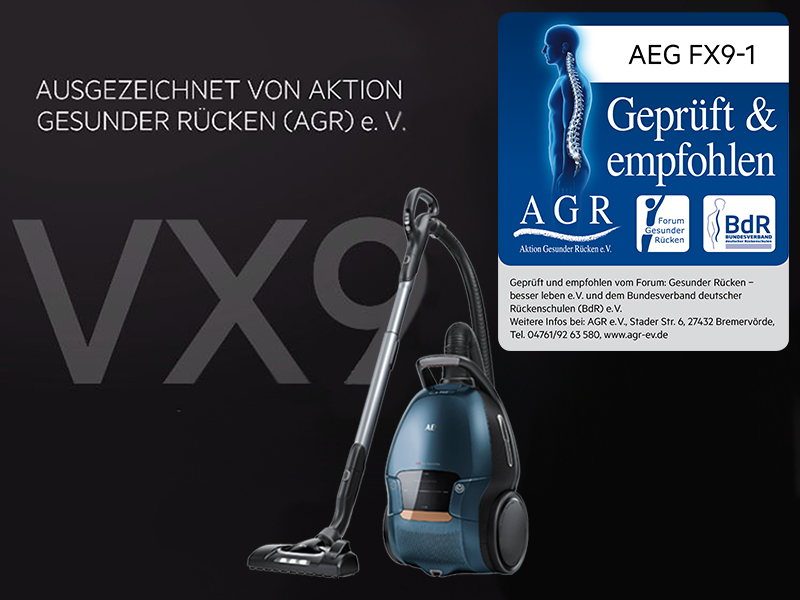 AEG VX9 4 8IBX Staubsauger   Staubsauger Test 2020