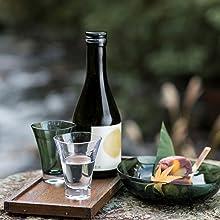日本酒 クリア グリーン
