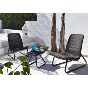 Nice Keter Plastic Resin Rio Rattan Patio Seating Set
