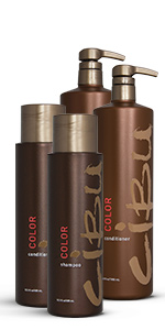 Cibu, hair care, color, shampoo, conditioner