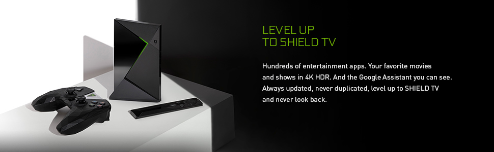Level up to shield tv