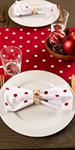 holiday napkins cloth,dish towels checkered,polka dot,cotton napkin,valentines day set,table decor