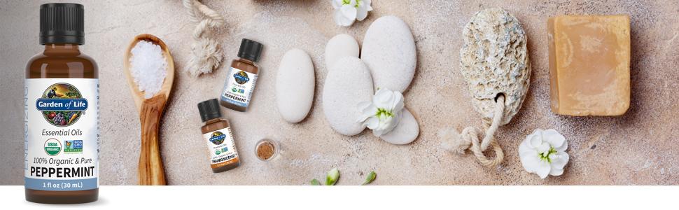 garden of life peppermint essential oils
