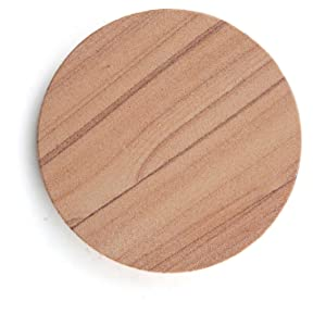 coaster, sand stone, absorbent, all natural, stone coaster, sandstone, condensation, glass drips