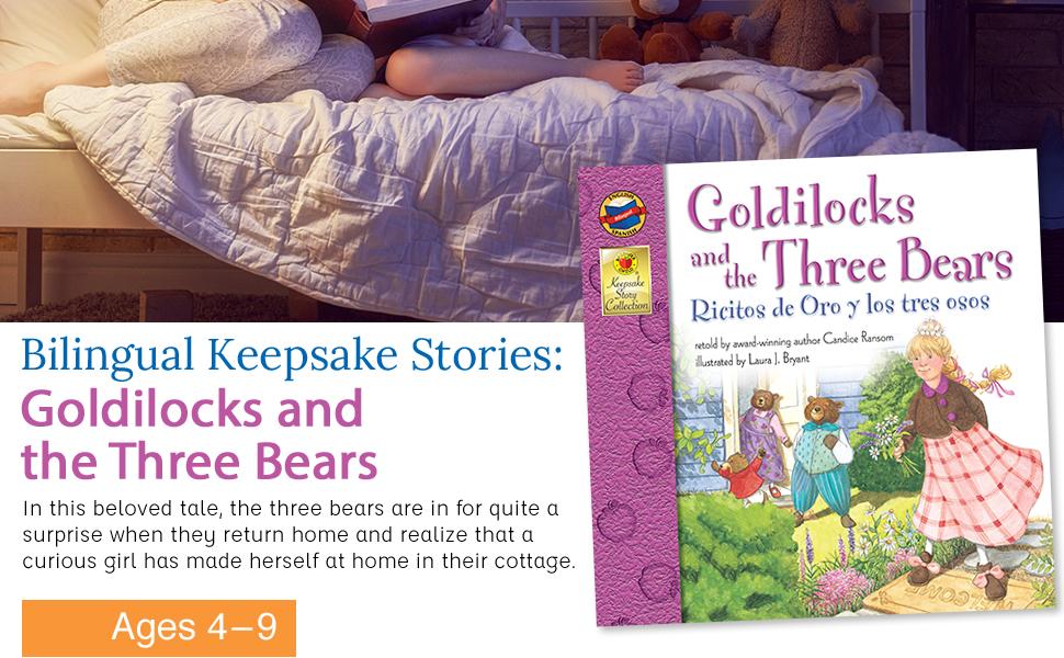 Bilingual Keepsake Story: Goldilocks and the Three Bears