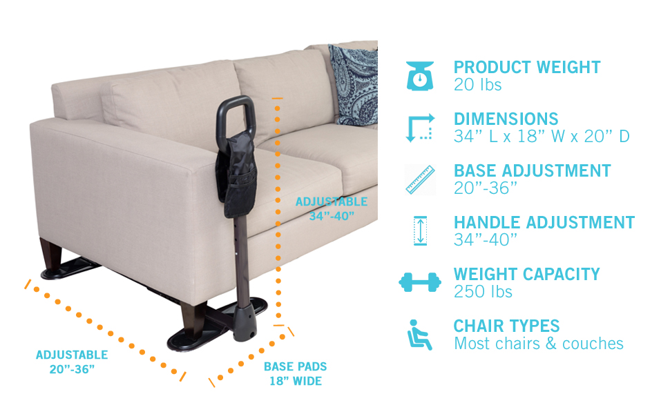 Amazon Com Stander Couchcane Ergonomic Safety Support