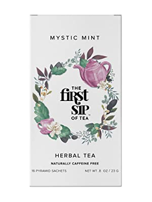 mystic mint tea