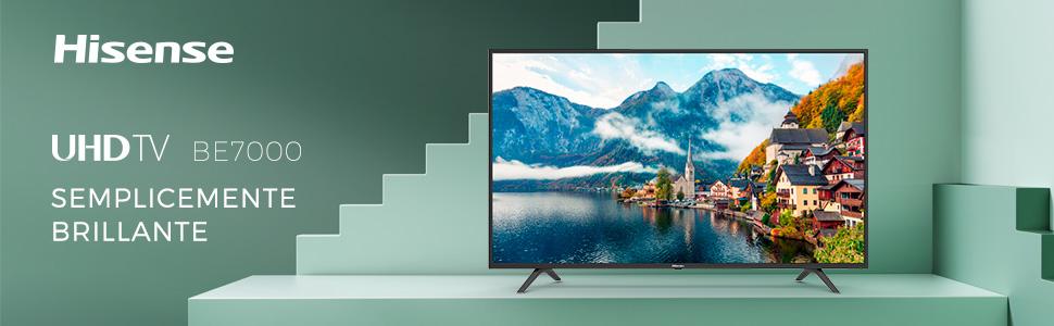 be7000 ultra hd 4k smart tv semplicemente brillante