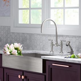 Beautiful KOHLER Stainless Steel Sinks