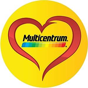 Multicentrum Junior Complemento Alimenticio con 12 Vitaminas y 4 Minerales, Con Vitamina B1, Vitamina B6, Vitamina B12, Hierro, Vitamina C, 20 ...