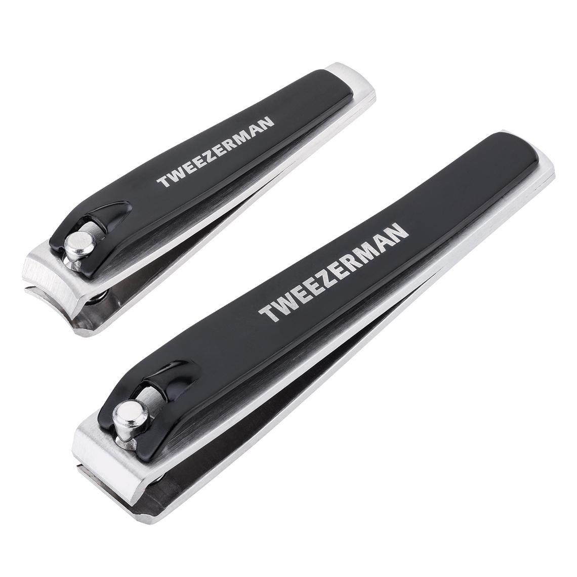 Amazon.com  Tweezerman LTD Stainless Steel Deluxe Nail Clipper Set (Fingernail Nail Clippers ...