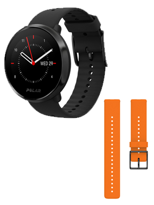 black ignite watch; polar ignite; ignite fitness watch; running watch; sport watch; multisport watch