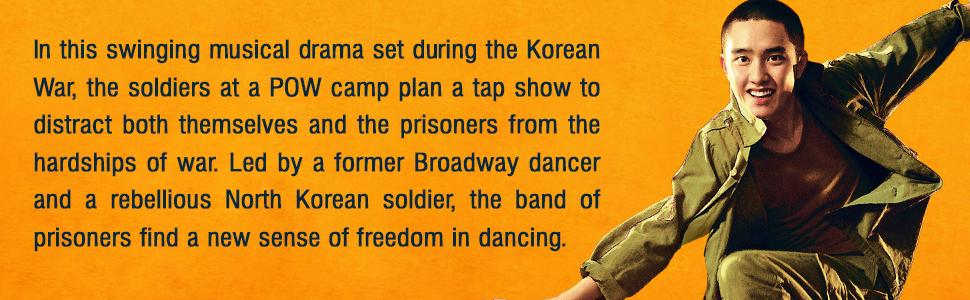 swing kids Korean well go usa new movie blu-ray dvd dance musical war release film drama