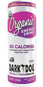 Dark Dog Organic Energy Drink 50 calories