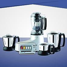 Panasonic MX-AC400 SILVER -4-Jar Super Mixer Grinder 550W