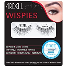 ardell, ardell lashes, ardell wispies 113, wispies, 113, false lashes, eyelashes, lashes, eyes